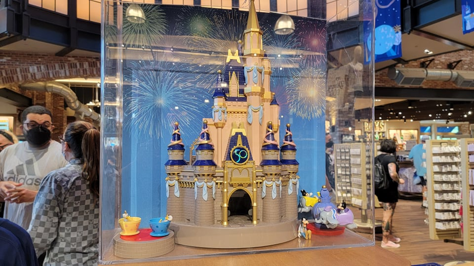 Gorgeous New 50th Anniversary Cinderella Castle Playset