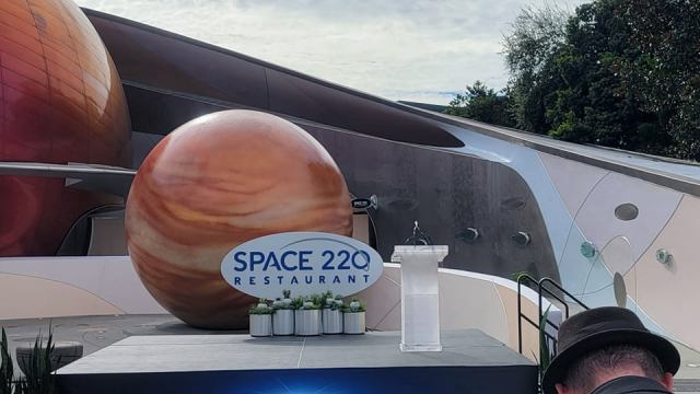We have lift-off! Space 220 Restaurant in Epcot is now open! 1