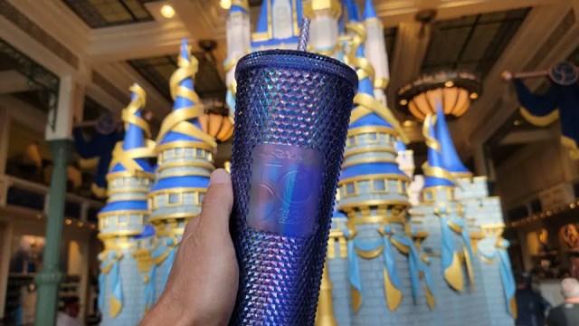 Disney World 50th Anniversary Starbucks Tumbler