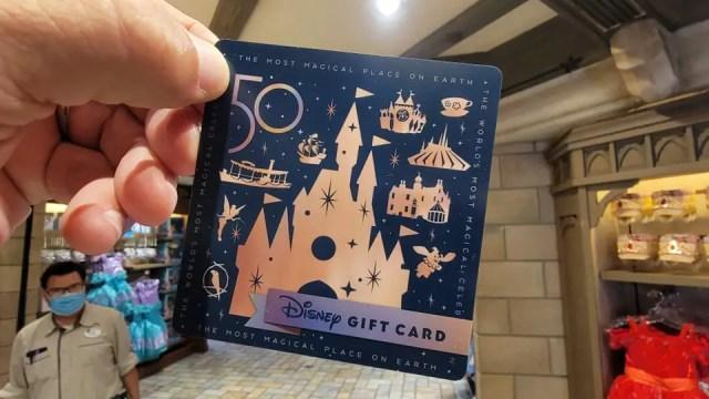Walt Disney World 50th Anniversary Gift Cards 1