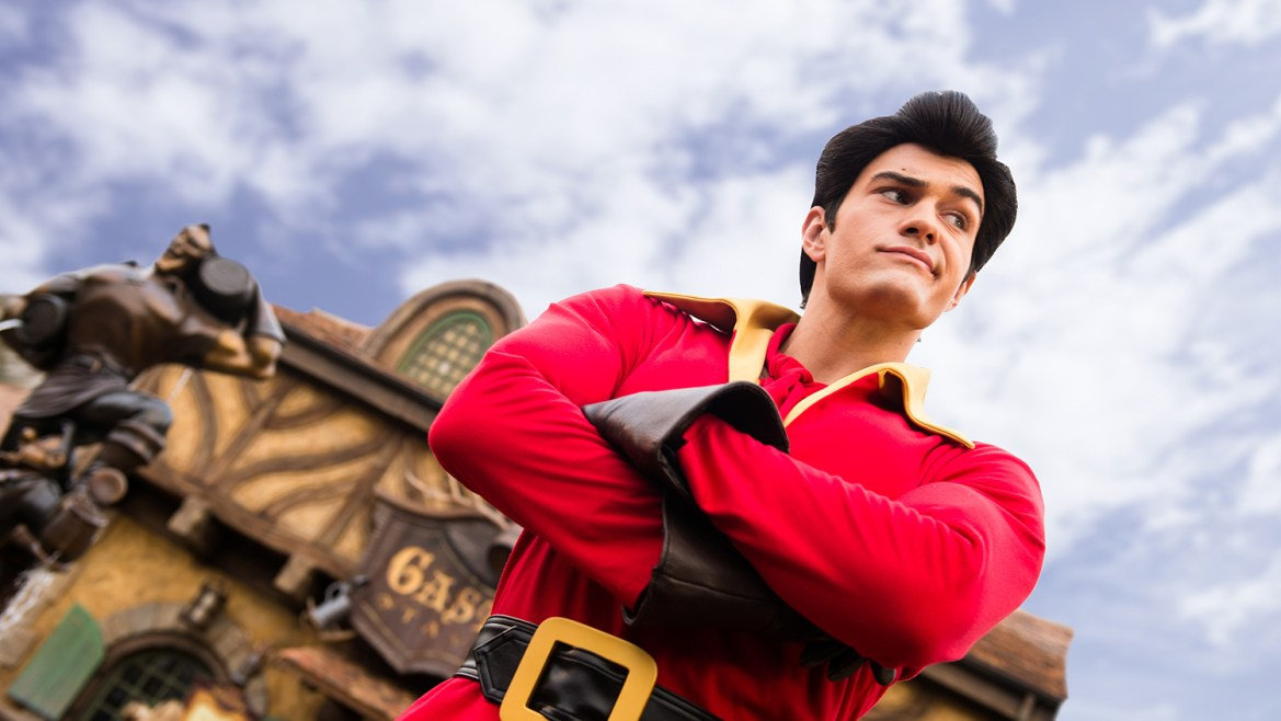 Gaston Forces Disney Guest to Leave Meet & Greet After Harassing Him