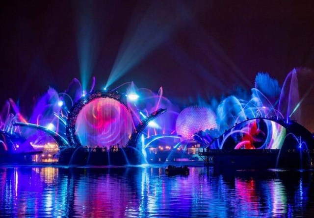 Harmonious officially starting 2 days early in Epcot 2
