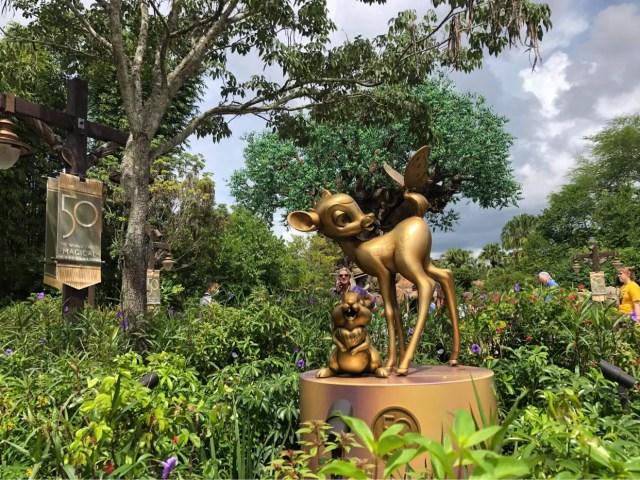 Disney Fab 50 statues now on display in Animal Kingdom 9