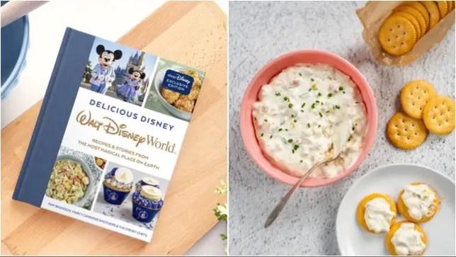 Cap'n Jack's Clam Dip Recipe From Delicious Disney Cookbook!