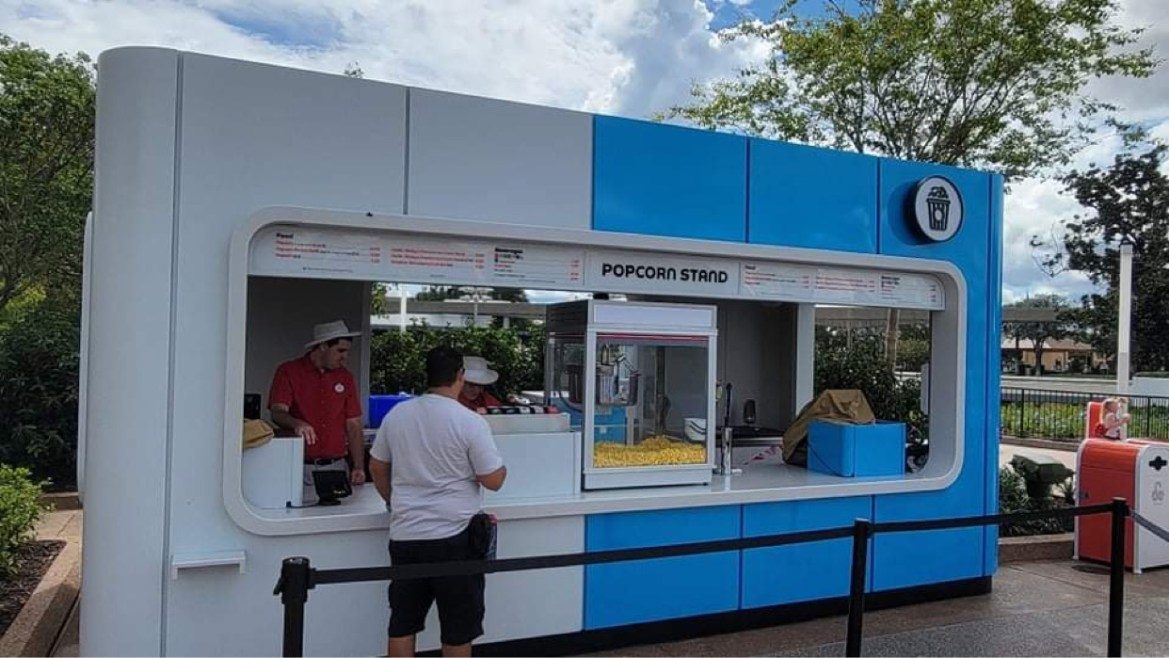 New Popcorn Stand is now open in Epcot