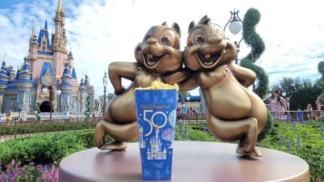 50th Anniversary Popcorn Box Debuts in the Magic Kingdom 1