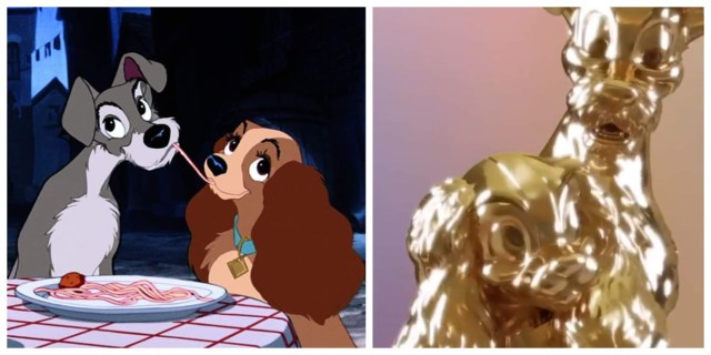 Lady and the Tramp Disney Fab 50 statue coming to the Magic Kingdom 1