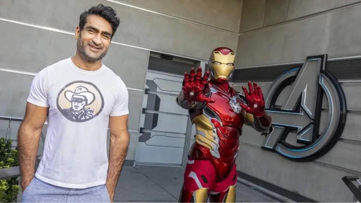 'Eternals' Actor Kumail Nanjiani Visits Avengers Campus