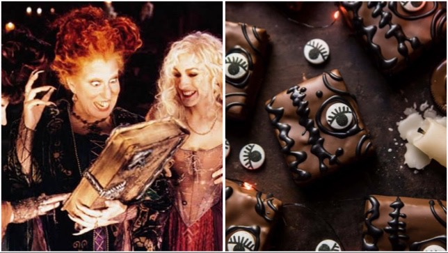 These Spooky Hocus Pocus Book Of Spells Brownies Will Put A Spell On You!