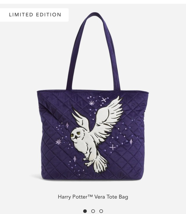 Vera Bradley + Harry Potter Launch New Forbidden Forest Collection! 9