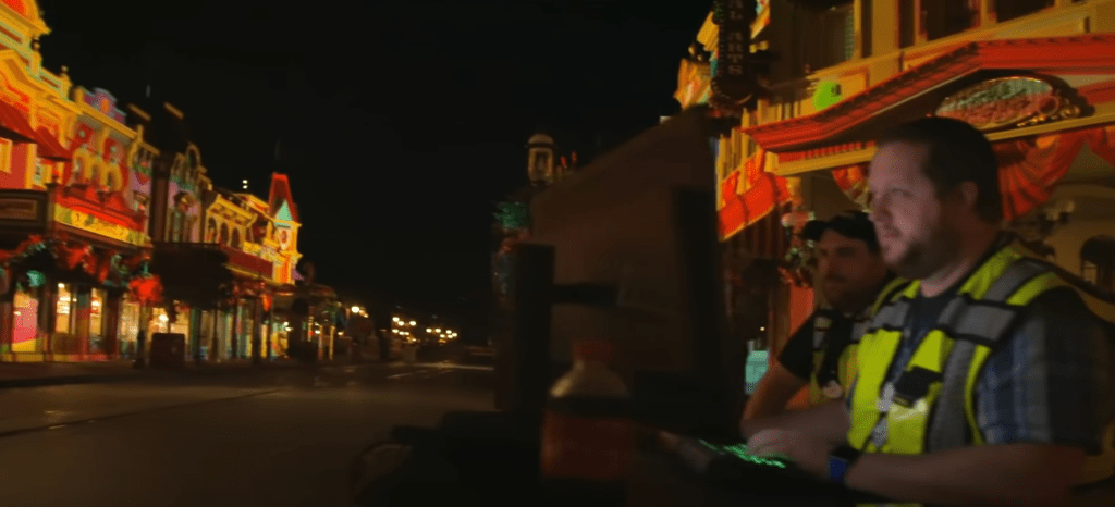 First look at the Main Street Projections for Disney Enchantment 3