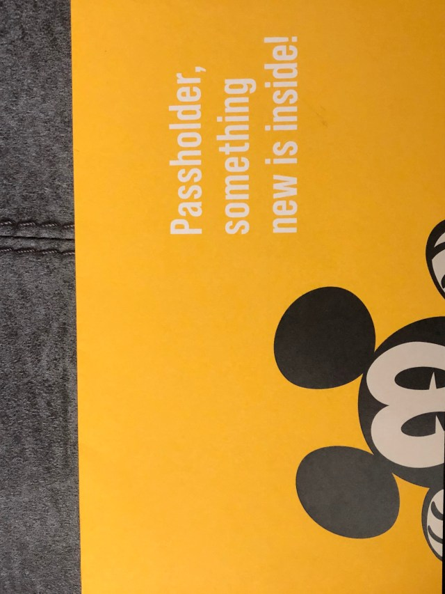 New Disney World Annual Passholder Magnets are being mailed out now 2