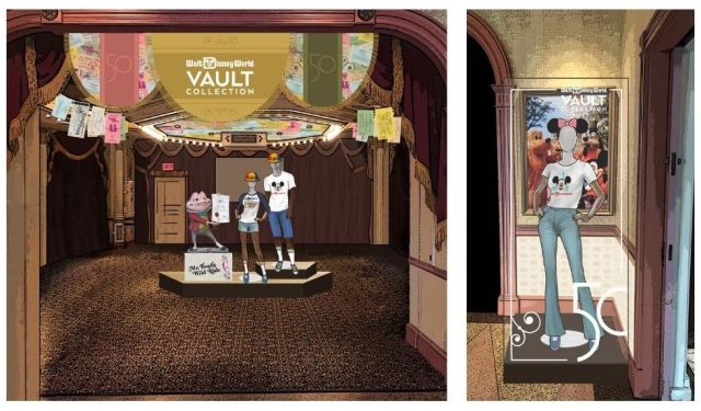 Sneak peek at the new Disney Vault Collection shopping experience coming to Disney World 4