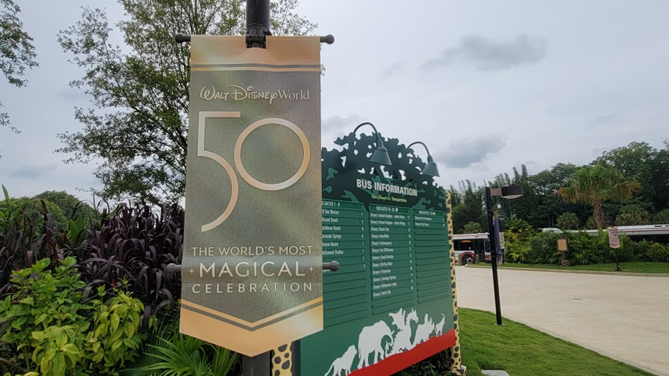 50th Anniversary Banners Now on Display in Disney's Animal Kingdom 1