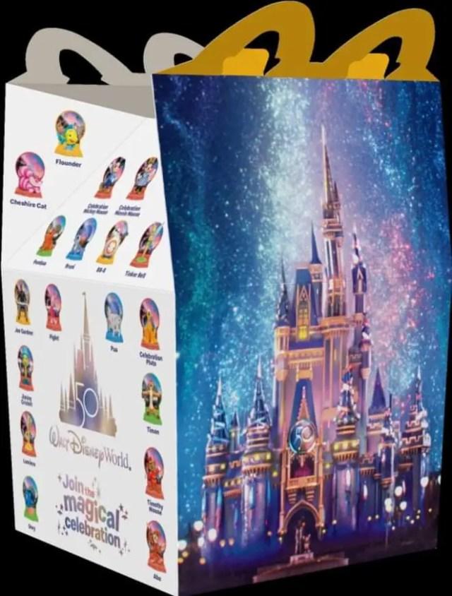 McDonald's Celebrates the Walt Disney World 50th Anniversary with New Happy Meal Toys 3