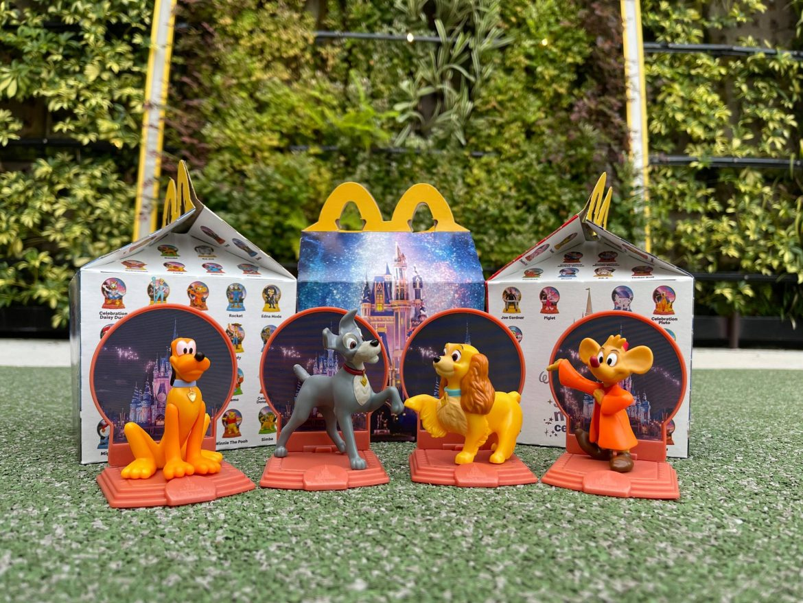 Disney World 50th Anniversary Happy Meal Toys Are Now at McDonald's