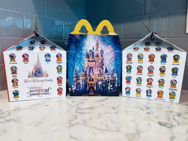 Disney World 50th Anniversary Happy Meal Toys Are Now at McDonald's 6