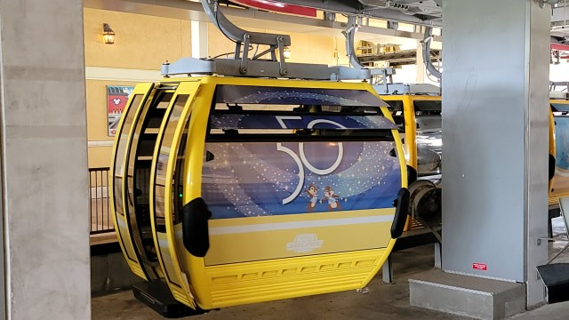 Disney's Skyliner just received a 50th Anniversary Makeover 1