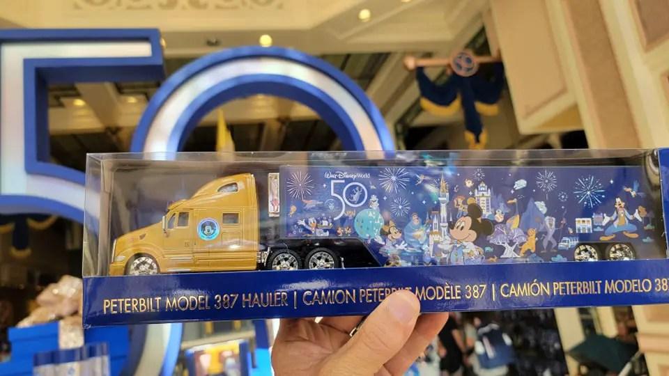 50th Anniversary Toy Truck Hauls Its Way to Walt Disney World