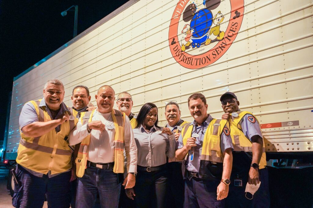 Disney World Cast Members receive new 50th Anniversary Name Badges 6