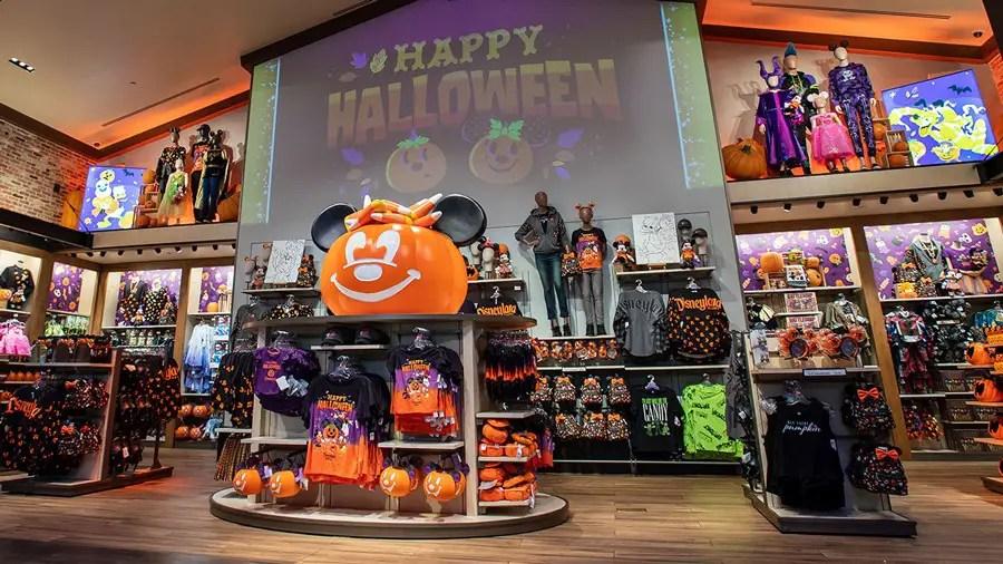 Halloween is in full swing at Downtown Disney in Disneyland