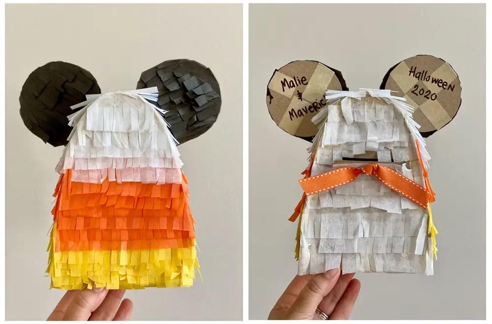 Fun DIY Mickey Candy Corn Piñata To Create This Halloween Season!