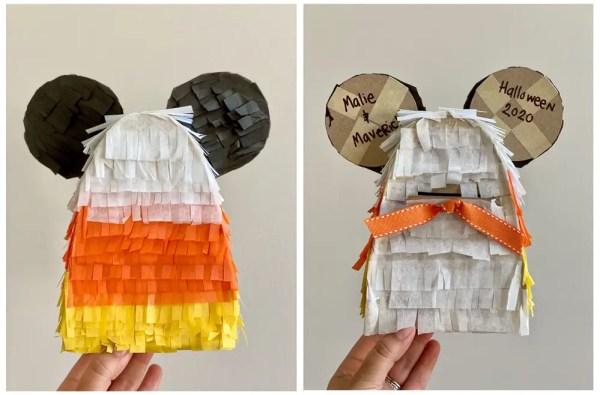 DIY Mickey Candy Corn Piñata