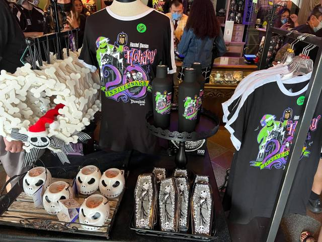 New Haunted Mansion Holiday 20th Anniversary Merch materializes in Disneyland 2