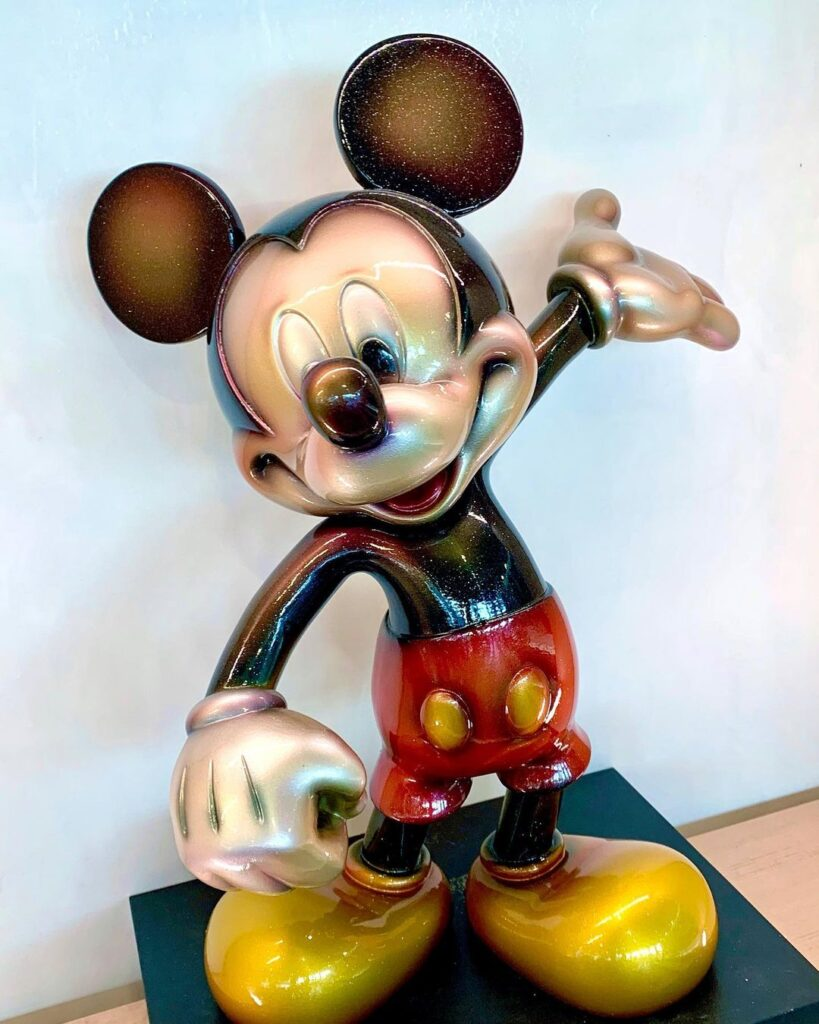 New Mickey statues revealed for Epcot's Creations Shop in time for opening 6