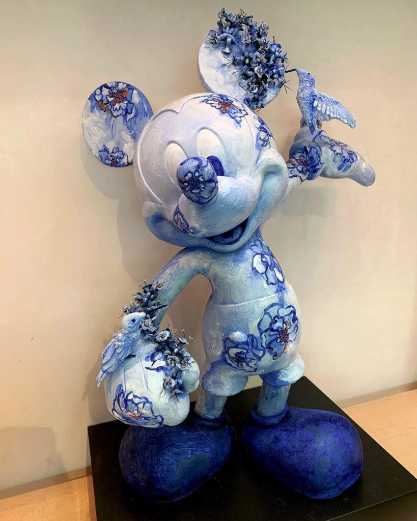New Mickey statues revealed for Epcot's Creations Shop in time for opening 3