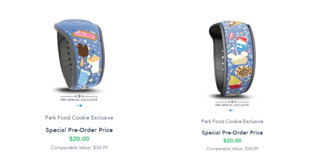 Pre Arrival Park Food MagicBand now available on Disney World website 1