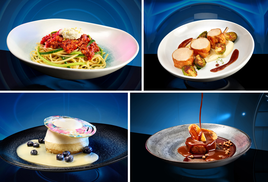 We have lift-off! Space 220 Restaurant in Epcot is now open! 7