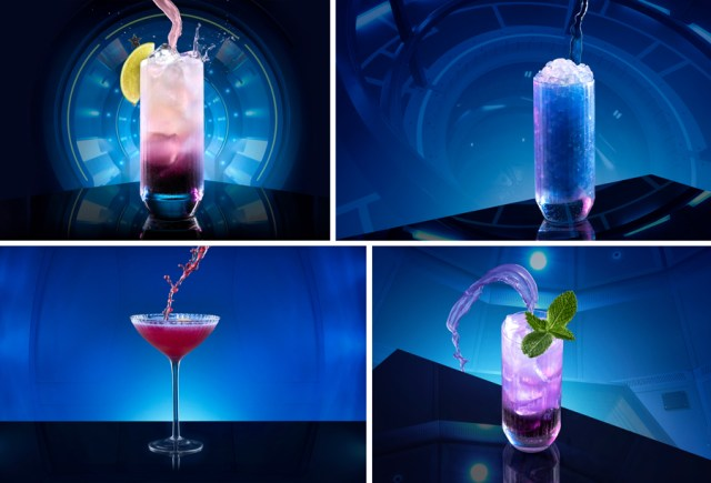 Space 220 restaurant drinks
