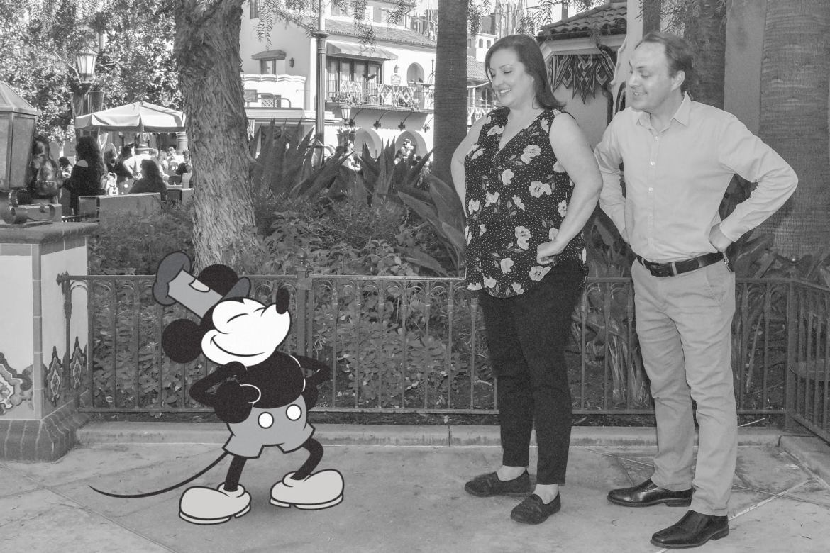 Special Steamboat Willie PhotoPass Magic Shot for Magic Key Holders in Disneyland