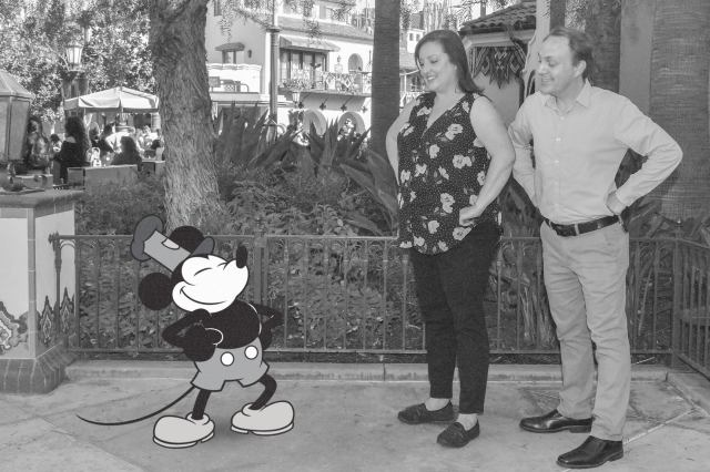 Special Steamboat Willie PhotoPass Magic Shot for Magic Key Holders in Disneyland 1