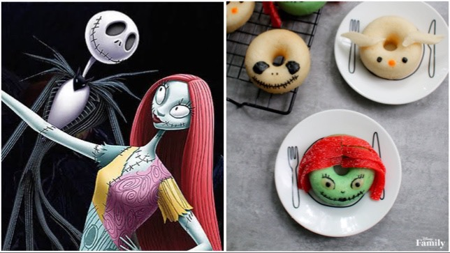 nightmare before christmas donuts