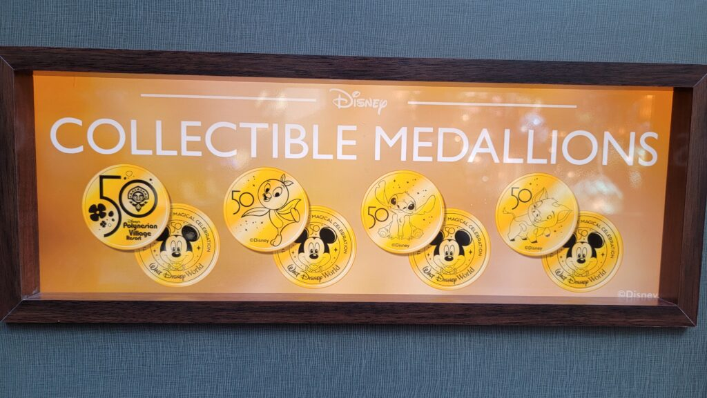 Disney World 50th Anniversary Pressed Pennies at Walt Disney World 3