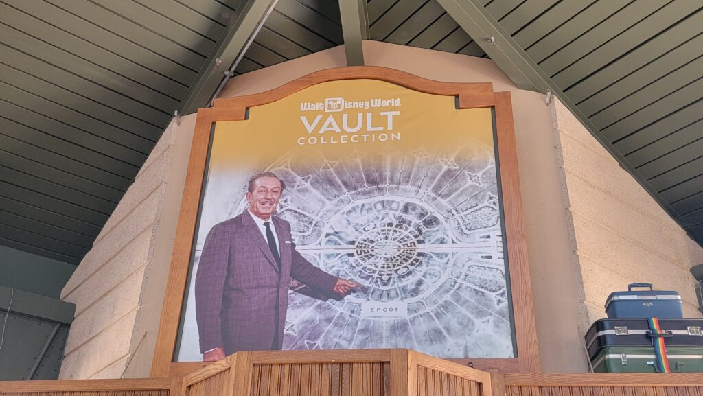Walt Disney World 50th Anniversary Vault display now available in Epcot 2