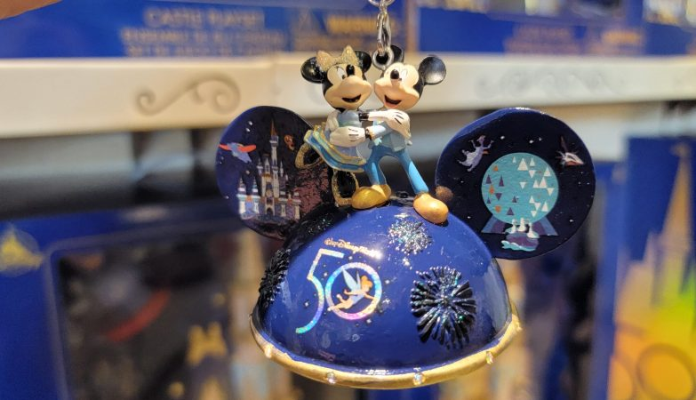 Disney World 50th Anniversary Christmas Ornament