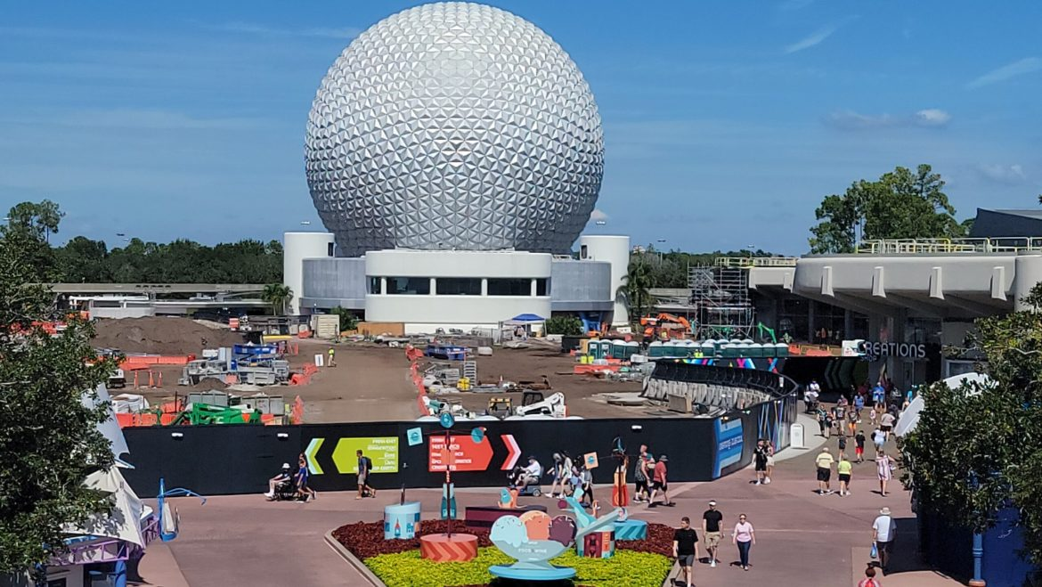 Moana's Journey of Water Construction Update from Epcot