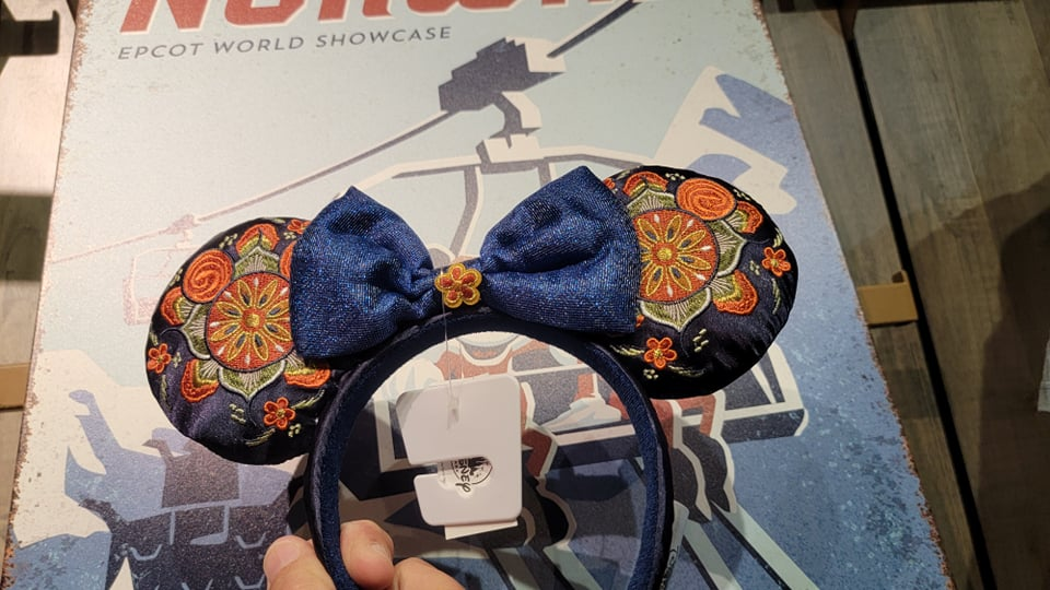 Stunning New Epcot Norway Minnie Ears
