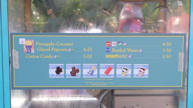 Disney World 50th Anniversary Popcorn gives us island vibes 2