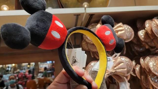Cute New Plush Mickey Ears Featuring Mickey Ears! 1