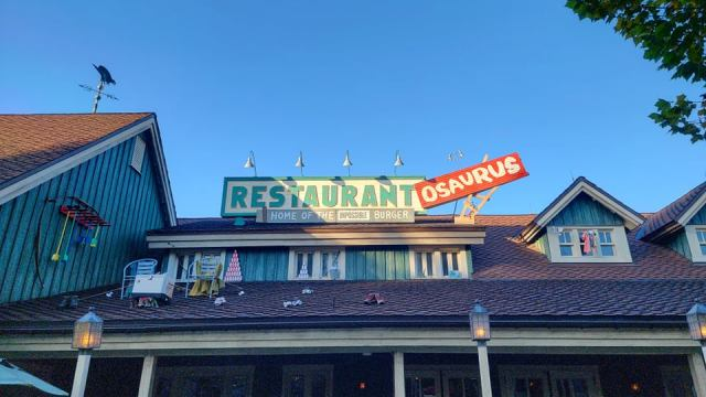 Restaurantosaurus in Disney's Animal Kingdom now sponsored by Impossible Foods 2