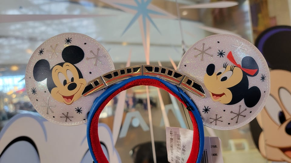 Celebrate the 50th Anniversary with New Mickey & Minnie Monorail Ears by Loungefly
