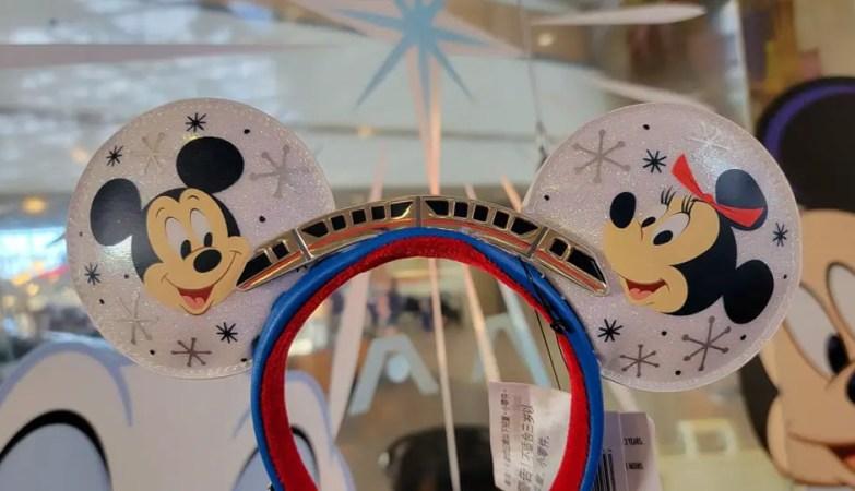 Mickey & Minnie Monorail Ears