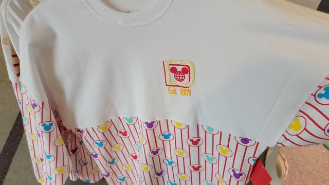 New Scented Popcorn Spirit Jersey now available at the Magic Kingdom 2