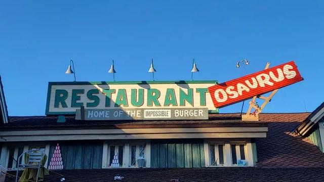 Restaurantosaurus in Disney's Animal Kingdom now sponsored by Impossible Foods 1