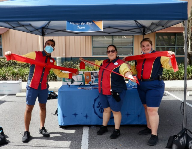 Disney Cast Members recently celebrated their own well being at a special event in Hollywood Studios 1