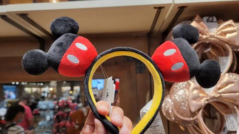 Cute New Plush Mickey Ears Featuring Mickey Ears!